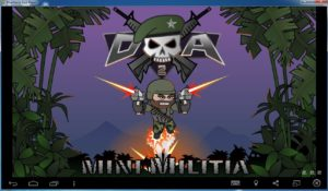 mini-militia-on-computer-300x175 Mini Militia Hack, Cheats, Mod Apk, Tricks for Android Phone/iOS/iPhone