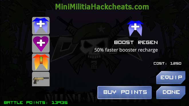 Mini Militia Mega Mod Pro Pack: One shot kill mod+Unlimited All