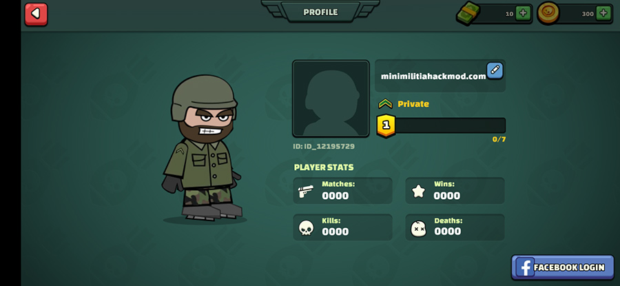 mini Militia avatar name change 2