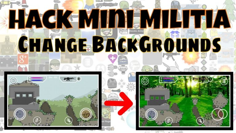 Mini Militia Invisible Hack [+Mod Apk] + Add Face + Background Change