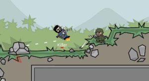 Doodle-army-2-Battle-Tips-And-Tricks-Crouch-300x165 Mini Militia Tips and Tricks to To Win Every Match (Doodle Army 2 Game)