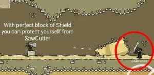 Shield can protect you from sawCutter and Missiles. MIni Militia tips