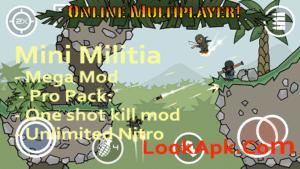 Mini Militia 2 2 61 Mega Mod by www sahadikr in mini militia mod Apk