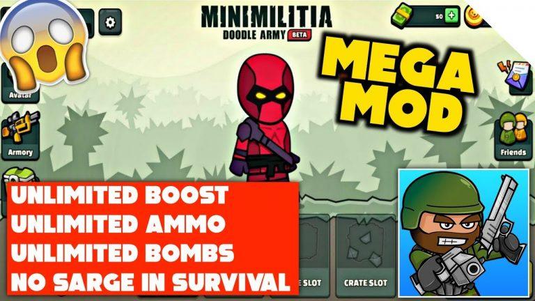 Mini Militia Mod Apk v5.3.4 {Undetectable Mod} Download! Latest Version MM Mod