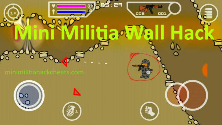 Mini Militia Wall Hack Download Doodle Army 2 Fly Through Walls APK v5.3.4