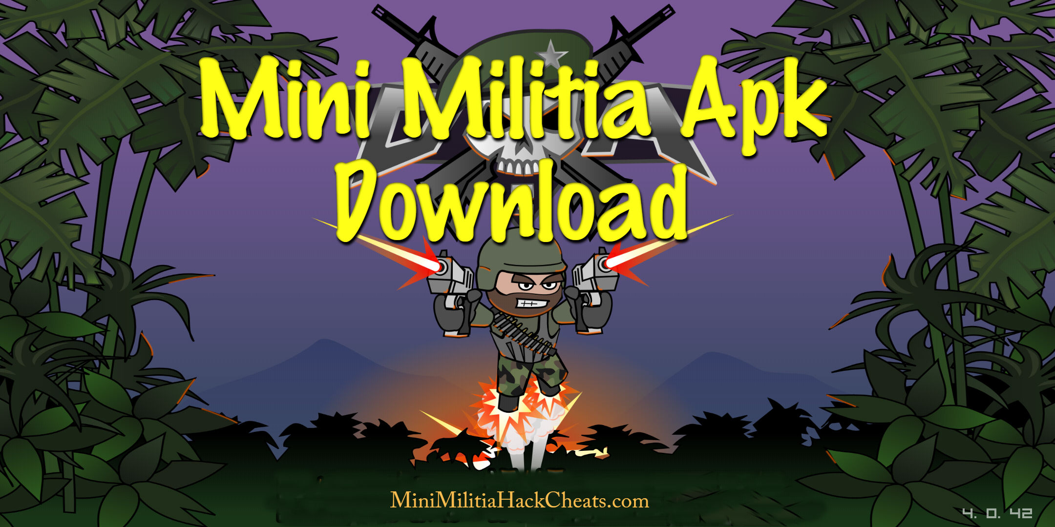 Mini Militia Double Gun – Unlimited Ammo MOD with Dual Wield