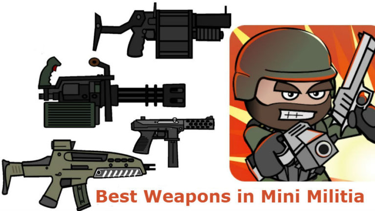 5 Best Weapons in Mini Militia with Combination