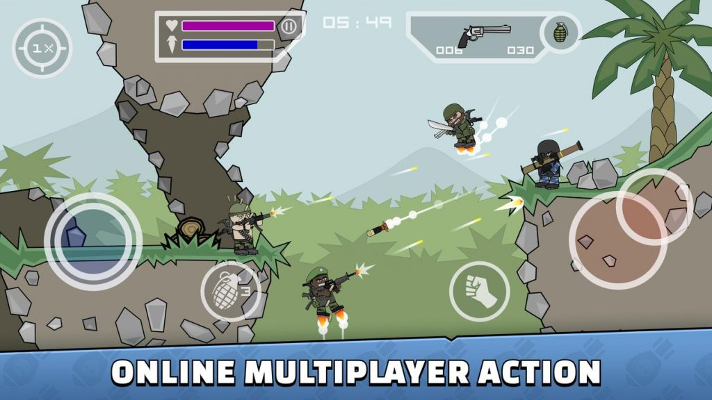 Mini Militia Apk Download For Android 2020 Doodle Army 2