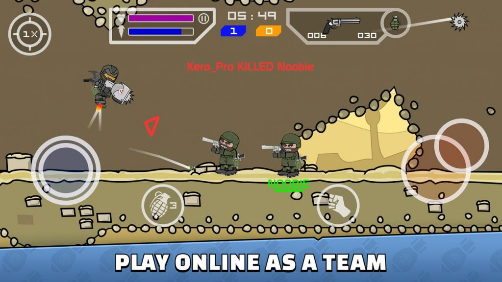 Mini Militia screenshots 2